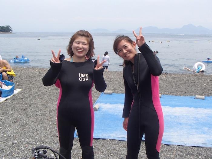 No,145 Scuba Diving in 大瀬崎 「PADIオープンウォーター講習⛱ 」