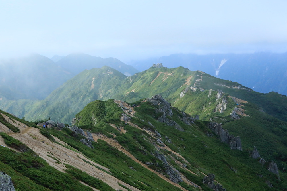 No,200㊗️ Mountain Climbing⛰ 【北アルプス縦走2日目 燕岳→大天井岳経由、常念小屋へ 人生初の縦走】