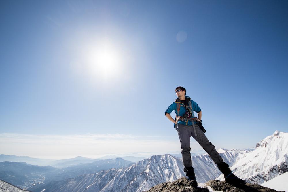 No,217 Mountain Climbing🥾「初めての雪山登山🗻雪山はめっちゃ暑かった!!谷川岳登頂」