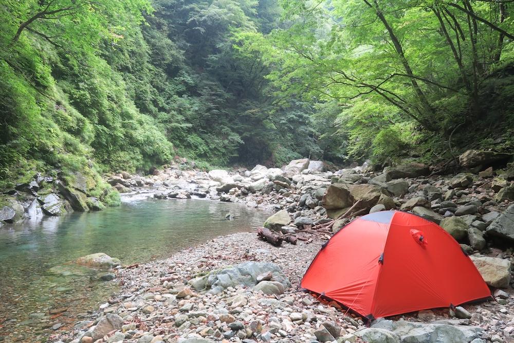 No.268CAMP🏕【栃木の秘境で渓流キャンプ&釣り】